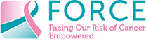 Force: Facing Our Risk of Cancer Empowered (FORCE) Logo