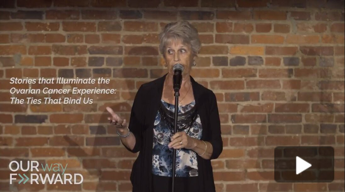 Karen's Ovarian Cancer Story - Storytelling Event Video