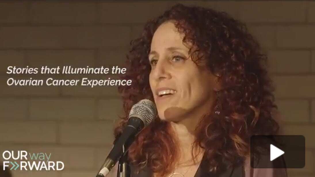 Jessica's Ovarian Cancer Story - Storytelling Event Video